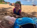 Maui Part I-Surviving the flight and a pool mishap